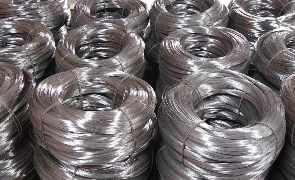 Rollos de alambre galvanizado de 1 a 500kg