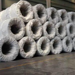 Alambre galvanizado en rollo empacado