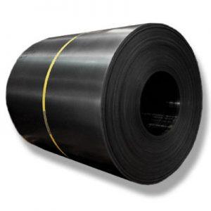 Lamina negra en rollo que se utiliza para aplicación en industria pesada del acero y la construcción