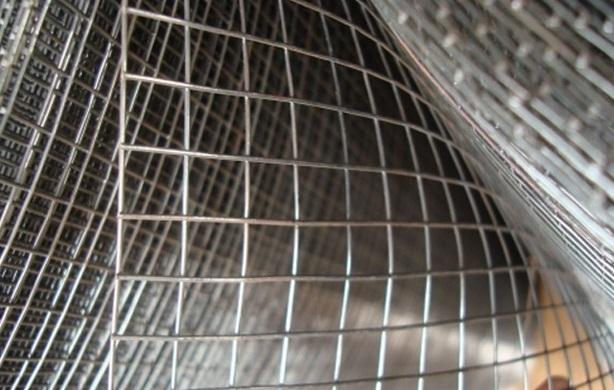 Malla electrosoldada ferretera de alambre galvanizado