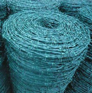 el-material-de-bajo-carbono-alambre-de-puas-plastico-pvc