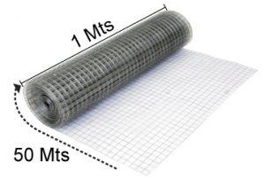 La malla electrosoldada ferretera esta hecha a base de alambre galvanizado de bajo calibre que le brinda mayor maleabilidad