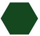 Malla modular pvc verde