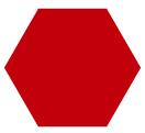 Reja de acero roja que brinda mayor protección ideal para cercar casas y terrenos
