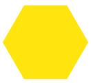 Reja de acero amarilla para cerramientos o vallas residenciales