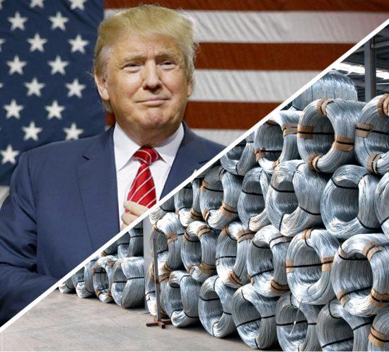 Trump y el alambre galvanizado