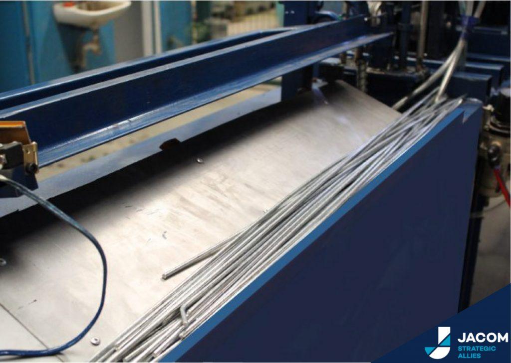 Máquina Enderezadora y Cortadora de Alambre | JACOM
