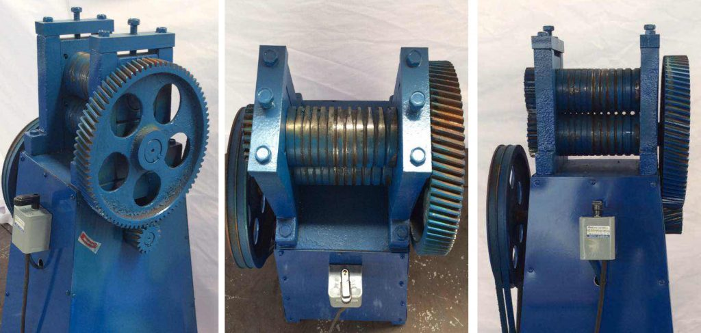 Raw wire sharpening machine