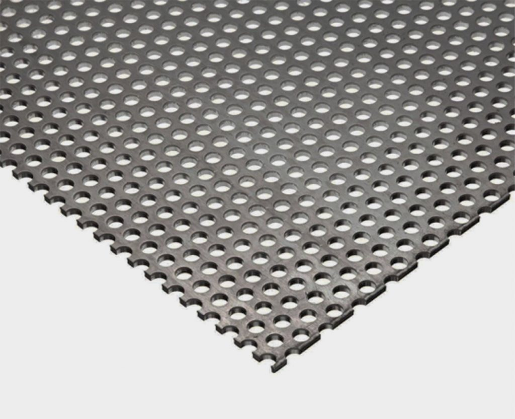 lamina perforada de acero inoxidable para industrias