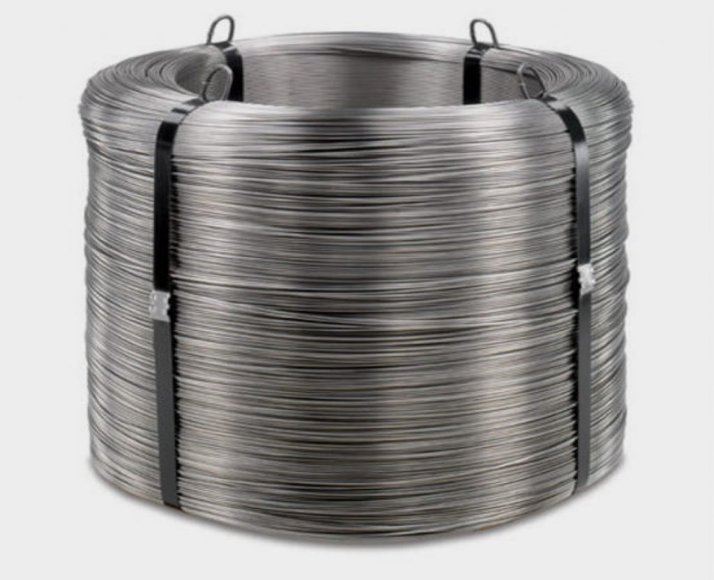 alambre en acero inoxidable en rollo en todos los calibres