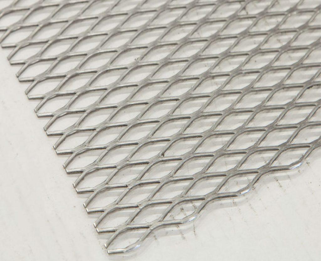 metal desplegado en acero para uso idustrial